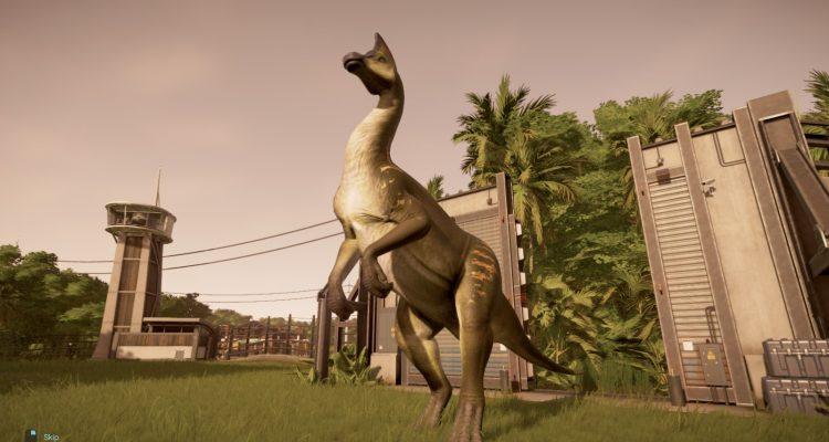 Как открыть олоротитана в Jurassic World Evolution