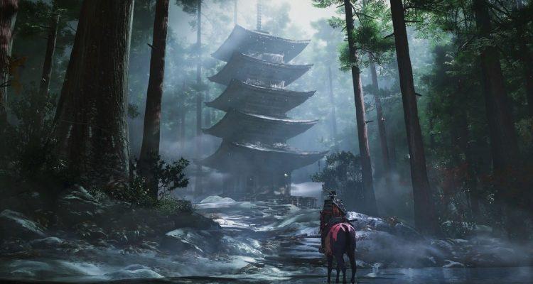 Мир Ghost of Tsushima будет вознаграждать игроков за исследования