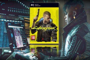 ПК версия Cyberpunk 2077 не будет иметь диска