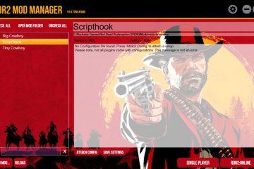 Управляйте модами для Red Dead Redemption 2 с помощью Mod Manager
