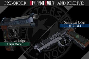 """Как получить пистолет """"Клинок самурая"""" в Resident Evil 2"""