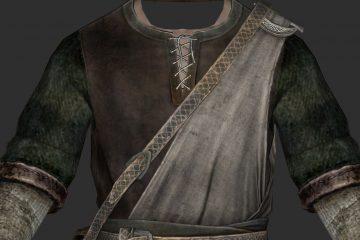 Улучшенный с помощью ИИ, HD текстур-пак для Skyrim полностью обновляет всю одежду