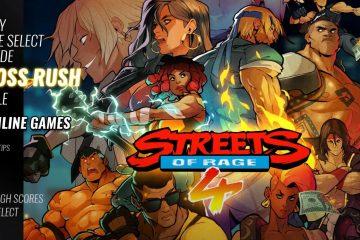 Как открыть режим «Бой с боссами» в Streets of Rage 4