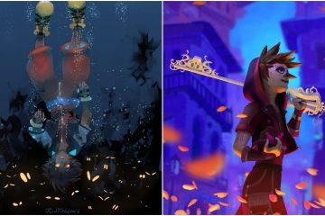 Лучшие фанарты Соры из Kingdom Hearts