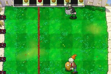 Боулинг в Plants vs. Zombies