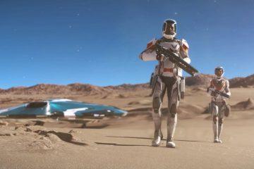 Дополнения Odyssey для Elite Dangerous позволит перемещаться по планетам пешком