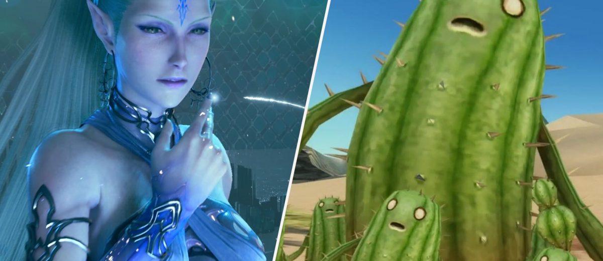 10 раз, когда в Final Fantasy сильно менялась внешность классических существ