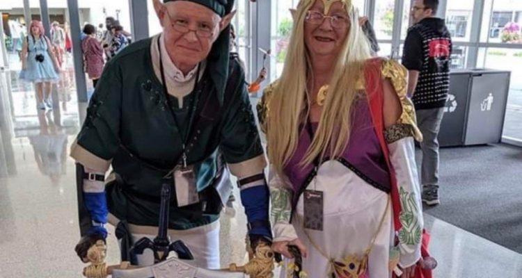 Своим косплеем Legend of Zelda пара доказала, что возраст не помеха веселью