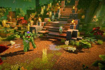 Minecraft Dungeons получит первое DLC на следующей неделе