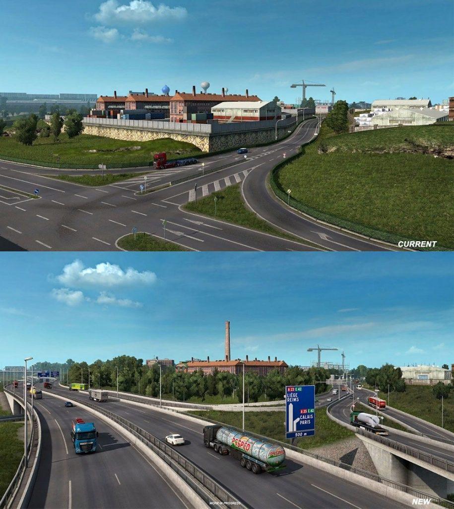 Начался ОБТ патча 1.38 для Euro Truck Simulator 2