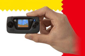 Sega анонсировала микро-консоль Game Gear