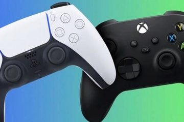 Сравнение размеров PS5 с Xbox Series X и другими консолями