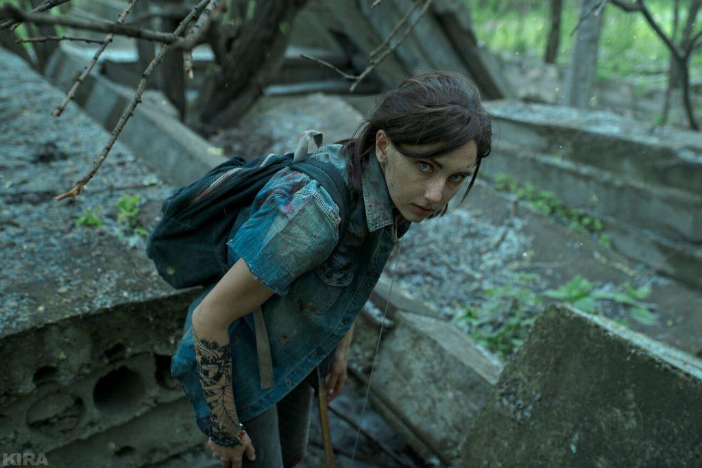 Косплей на грозную Элли из The Last of Us Часть 2