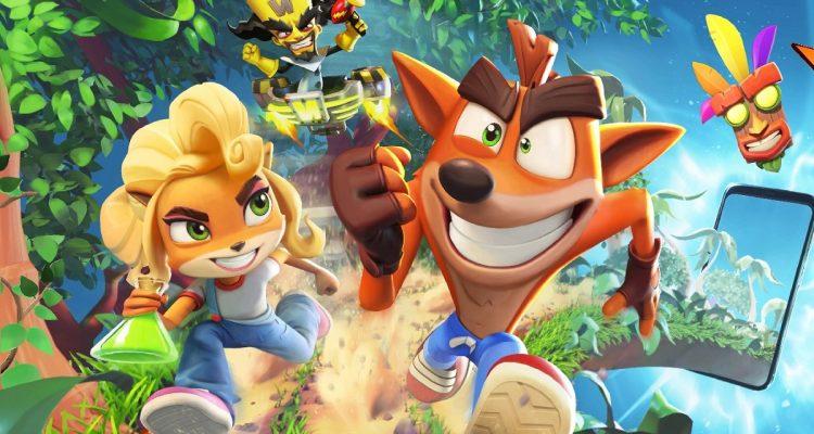Анонсирован Crash Bandicoot: On the Run, теперь официально