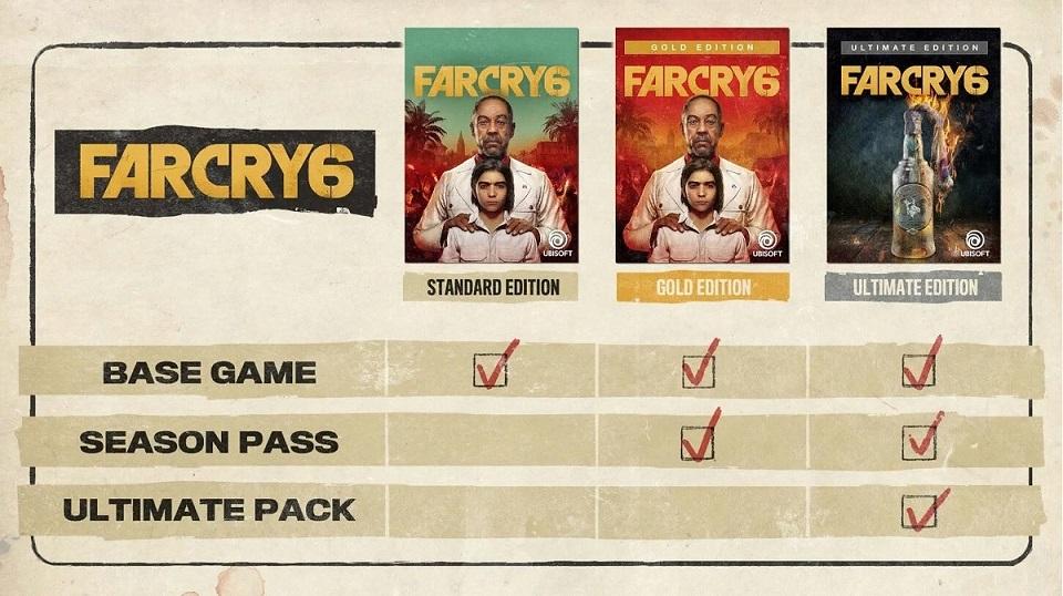Коллекционное издание Far Cry 6 включает в себя копию огнемёта