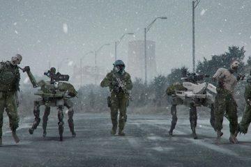 Концепт-арт Modern Warfare демонстрирует режим зомби, которого не было в игре