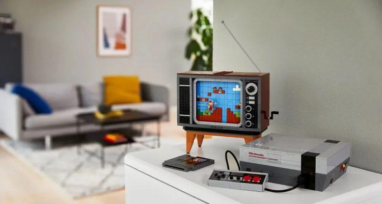 Lego выпускает набор, включающий в себя приставку NES и ретро-телевизор