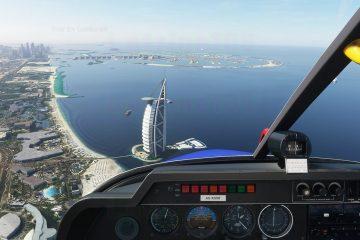 Microsoft Flight Simulator с реальным воздушным движением
