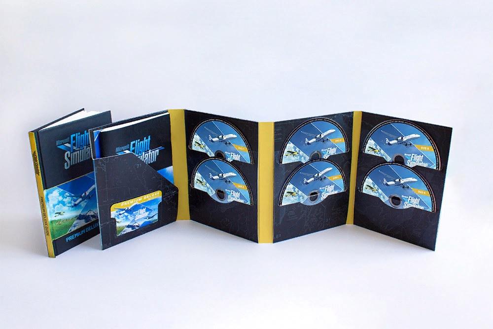 Microsoft Flight Simulator выйдет на 10 DVD