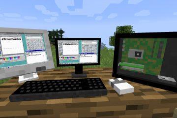 VM Computers позволяет создать работающий ПК в Minecraft
