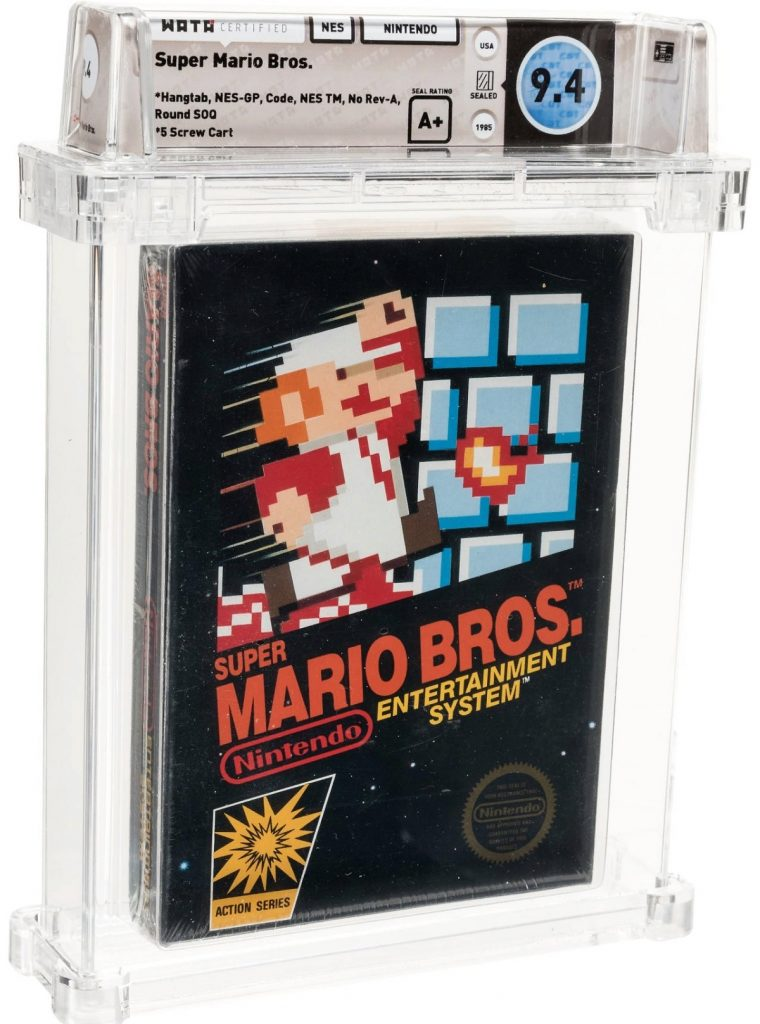 Редкую копию Super Mario продали на аукционе за 114 000 долларов