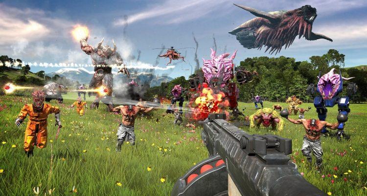 Serious Sam 4 - новый трейлер представляет сотни врагов на огромных локациях