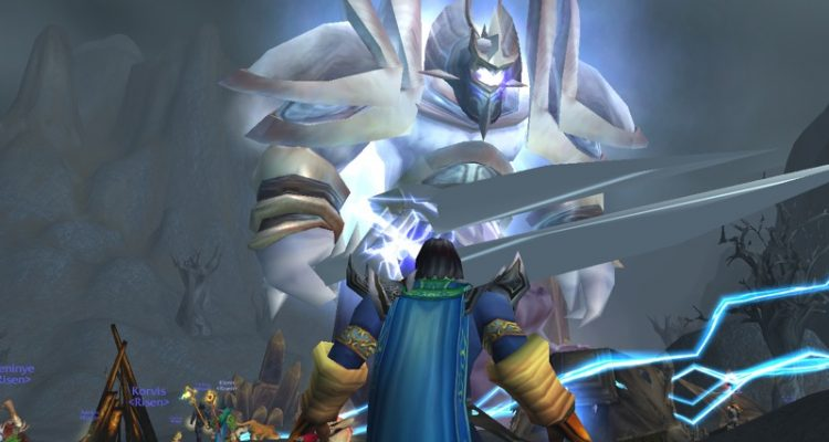 Первое серверное убийство босса в раннем World of Warcraft