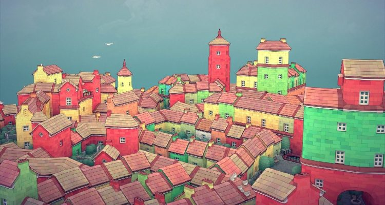 Townscaper - инди-жемчужина покорила ранний доступ в Steam