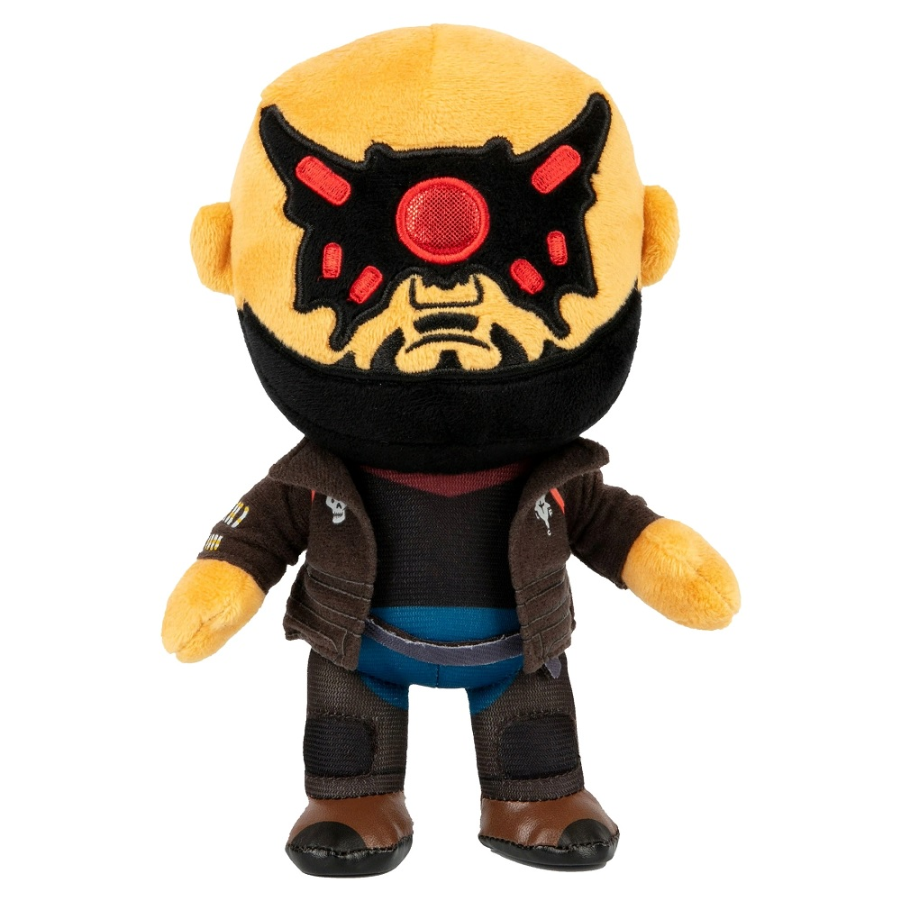 Анонсирована серия мягких игрушек по мотивам Cyberpunk 2077
