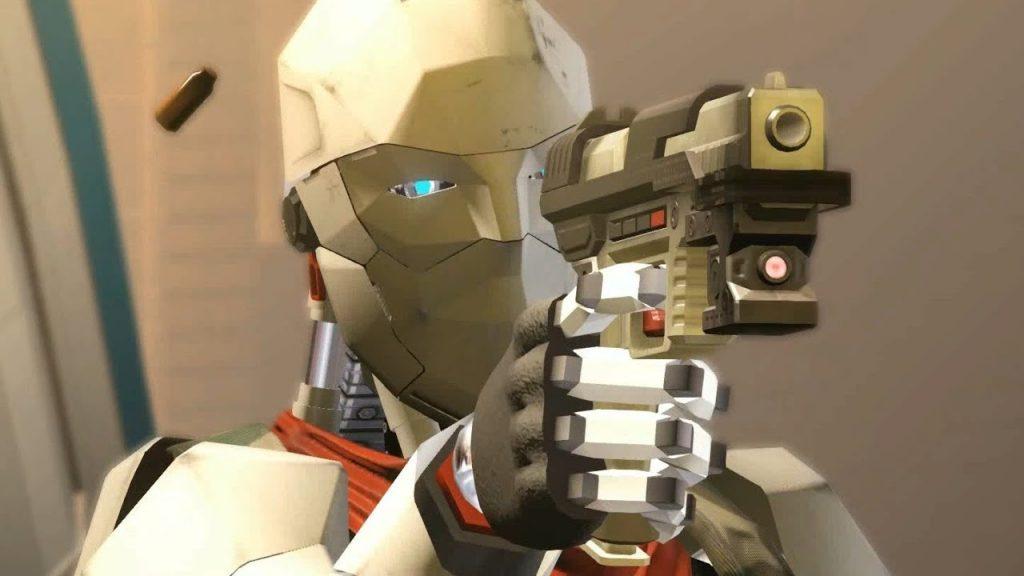 Уничтожение роботов в Binary Domain