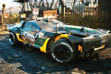 Cyberpunk 2077 предложит почти тридцать разных автомобилей