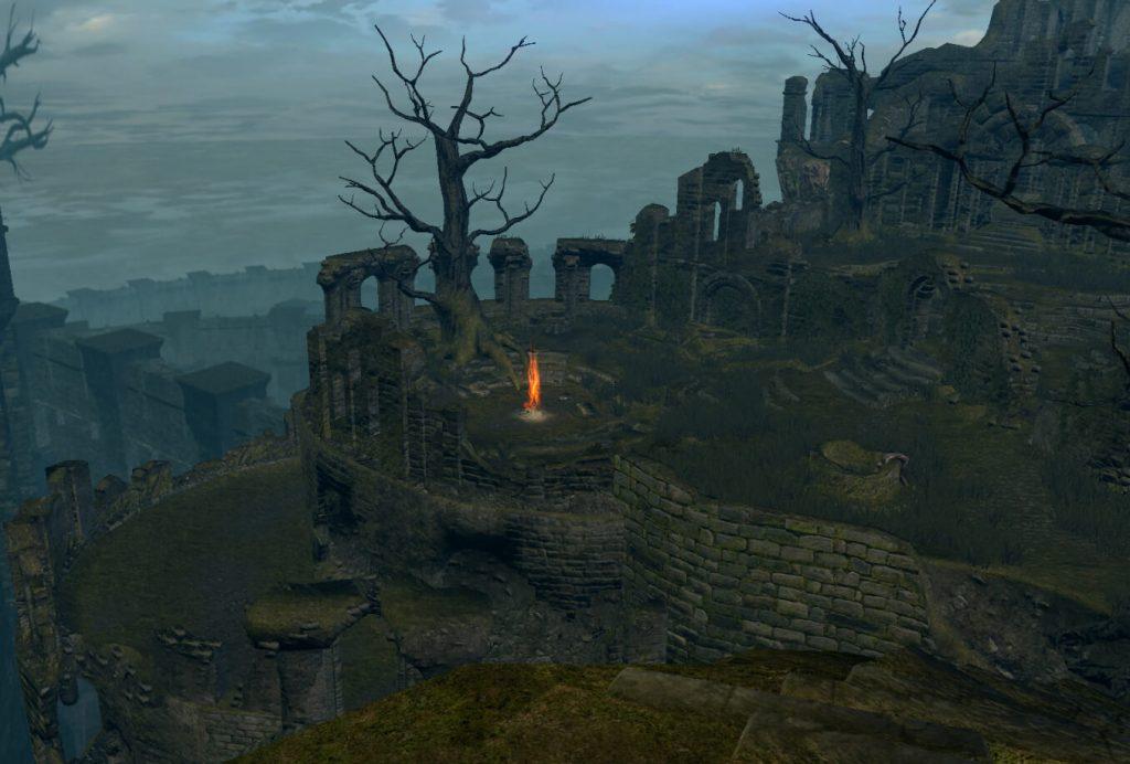 Храм Огня в Dark Souls