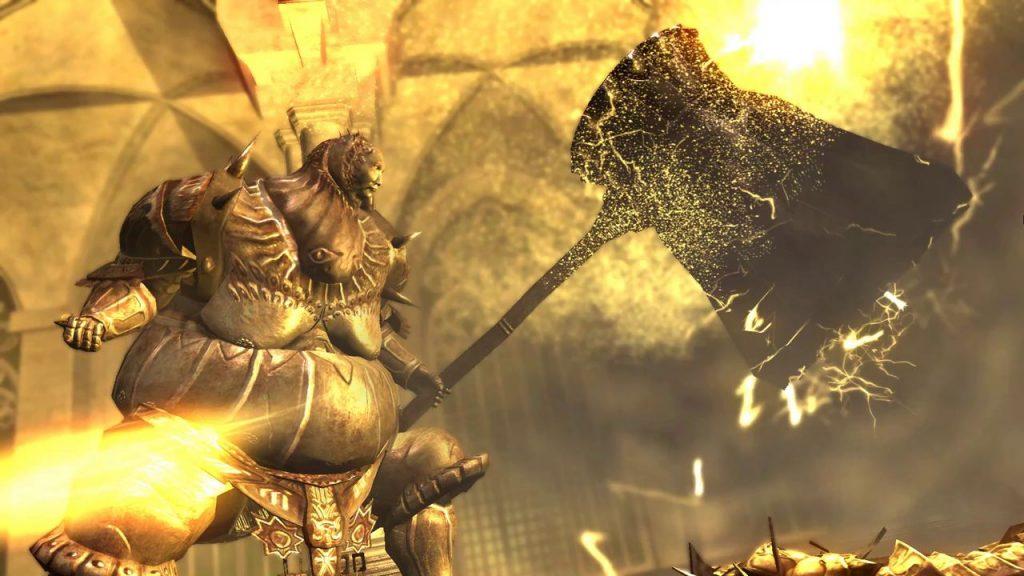 Битва с Орнштейном и Смоугом в Dark Souls