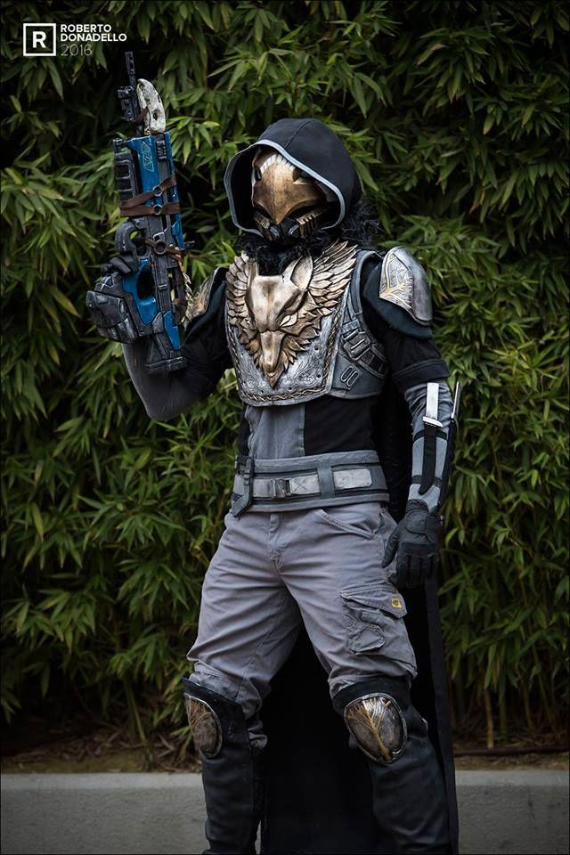 Лучший косплей Охотника из Destiny 2