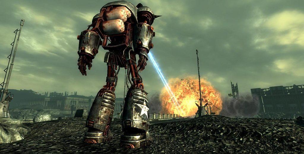 Либерти Прайм в Fallout 3