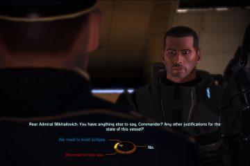 Колесо диалогов Mass Effect