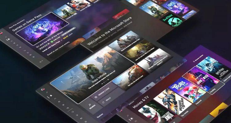 Microsoft представила обновлённый Xbox Store