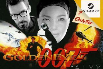 Моддеры сделают ремейк GoldenEye 007 в виде мода для Half-Life Alyx