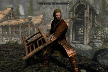 Мод для Skyrim превращает обыкновенный стул в мощное двуручное оружие