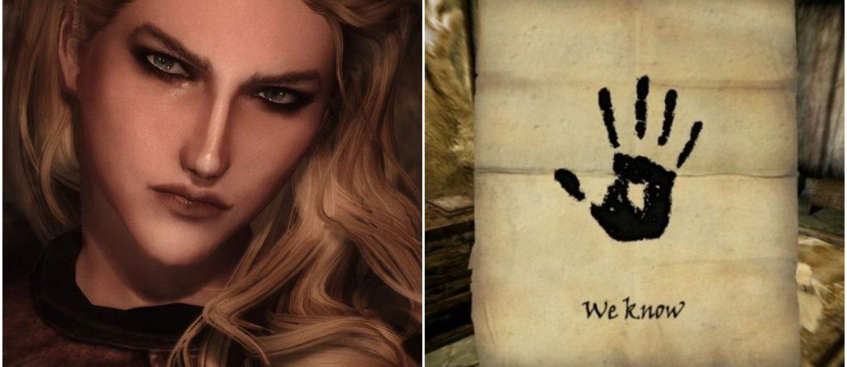 10 несуразностей, связанных с Тёмным Братством в Skyrim