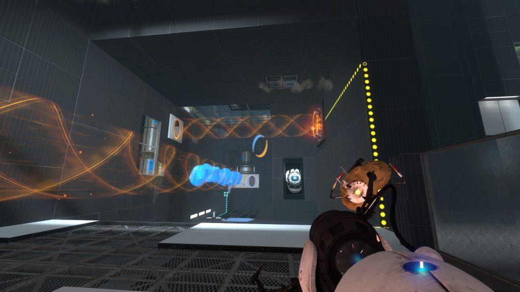 Объединение с картофельной ГЛаДОС в Portal 2