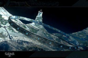 Концептуальный визуальный стиль серии Halo