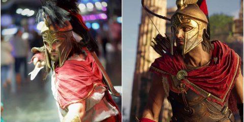 Assassin's Creed Odyssey: 10 крутых косплеев на Алексиоса