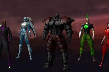 Создание персонажа в City of Heroes