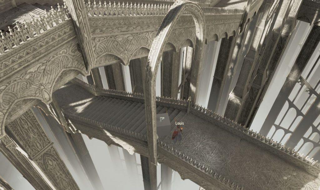Мод дает возможность играть в Code Vein с видом сверху