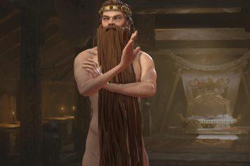 Мод с бородой волшебника для Crusader Kings 3