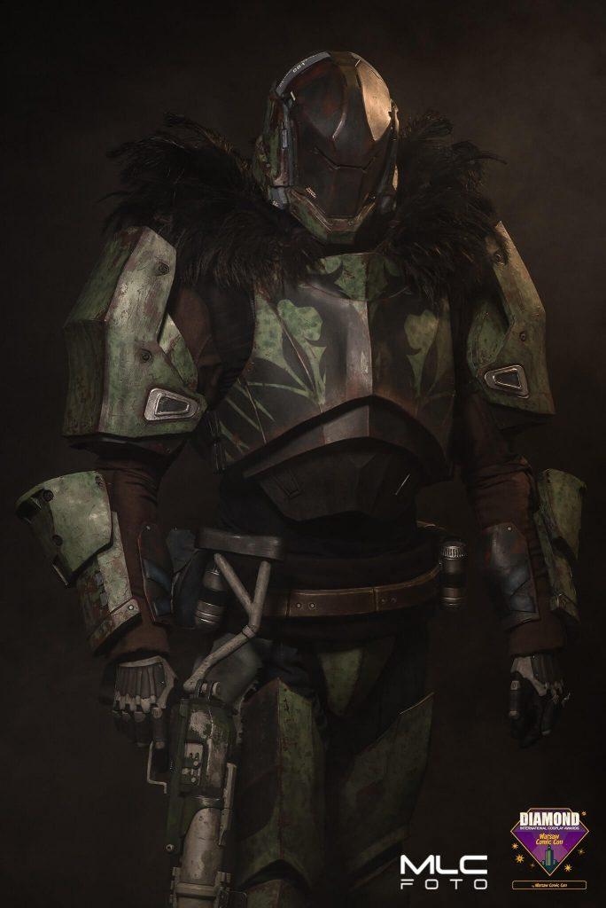 Лучший косплей Титана из Destiny