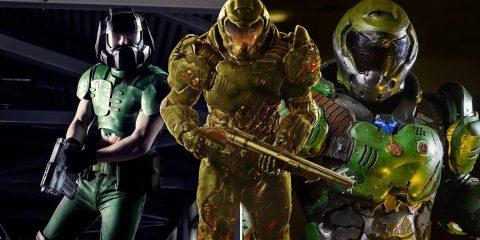 Лучший косплей Думгая из «Doom»