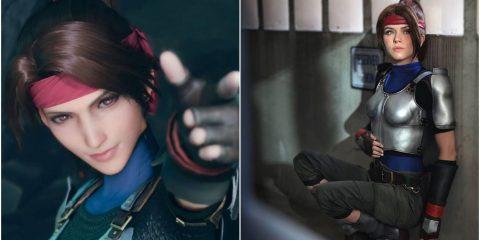 Final Fantasy 7 Remake: 10 лучших косплеев на Джесси Расберри