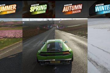 Времена года Forza Horizon 4